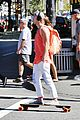 tom felton orange tank workout before flash set 04