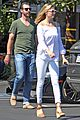kate upton and justin verlander head to lunch in weho 11
