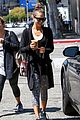 jessica alba grabs coffee with friends 21