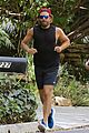 bradley cooper sports scruffy beard for beachside run 17