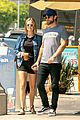 chace crawford and rebecca rittenhouse step out for breakfast and furniture shopping 10