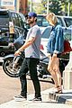 chace crawford and rebecca rittenhouse step out for breakfast and furniture shopping 11