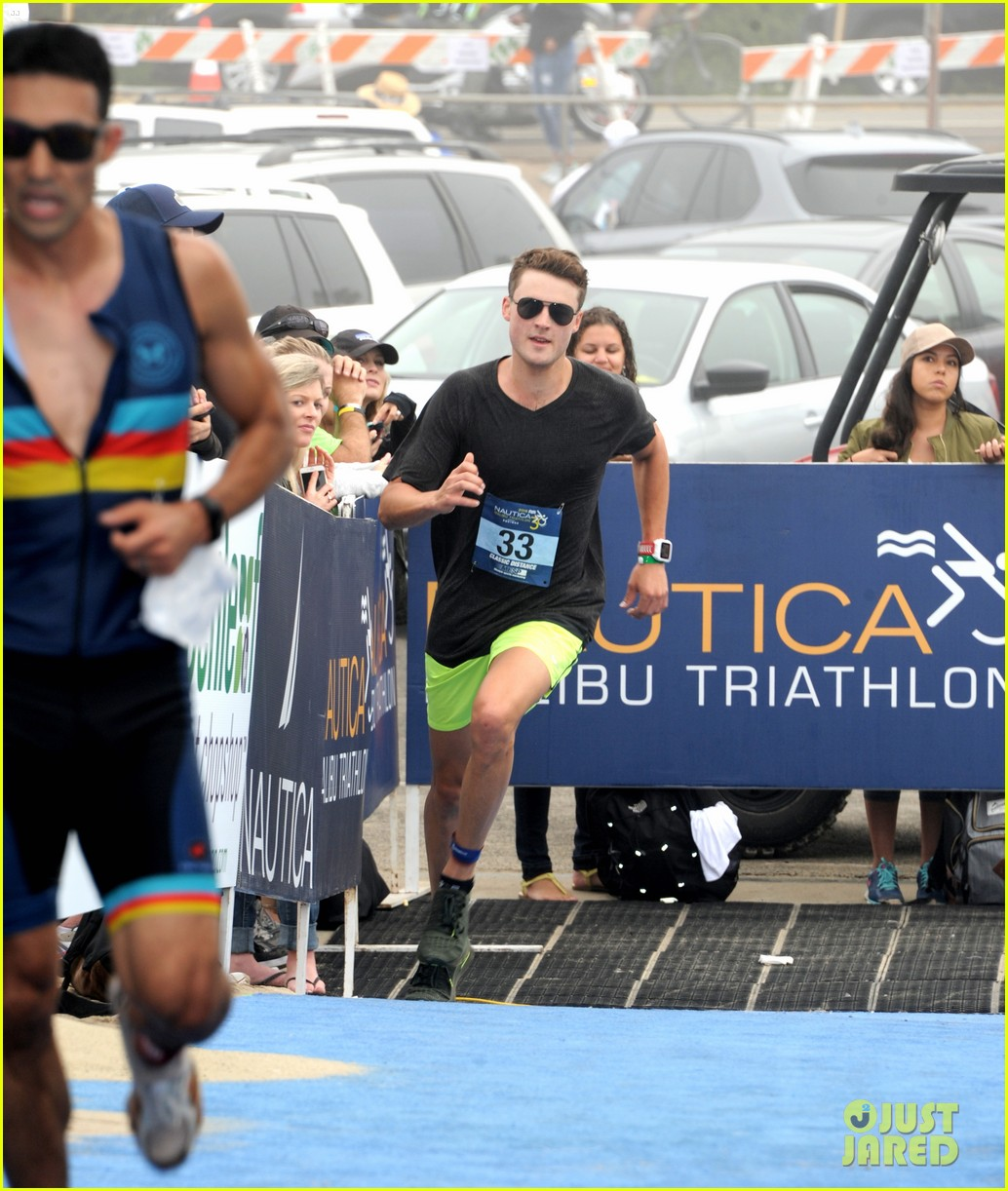 james marsden zac efron among celebs malibu triathlon 503763413