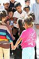 angelina jolie meets children at syrian refugee camp 22