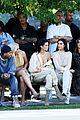 kim kardashian front row kanye yeezy 12