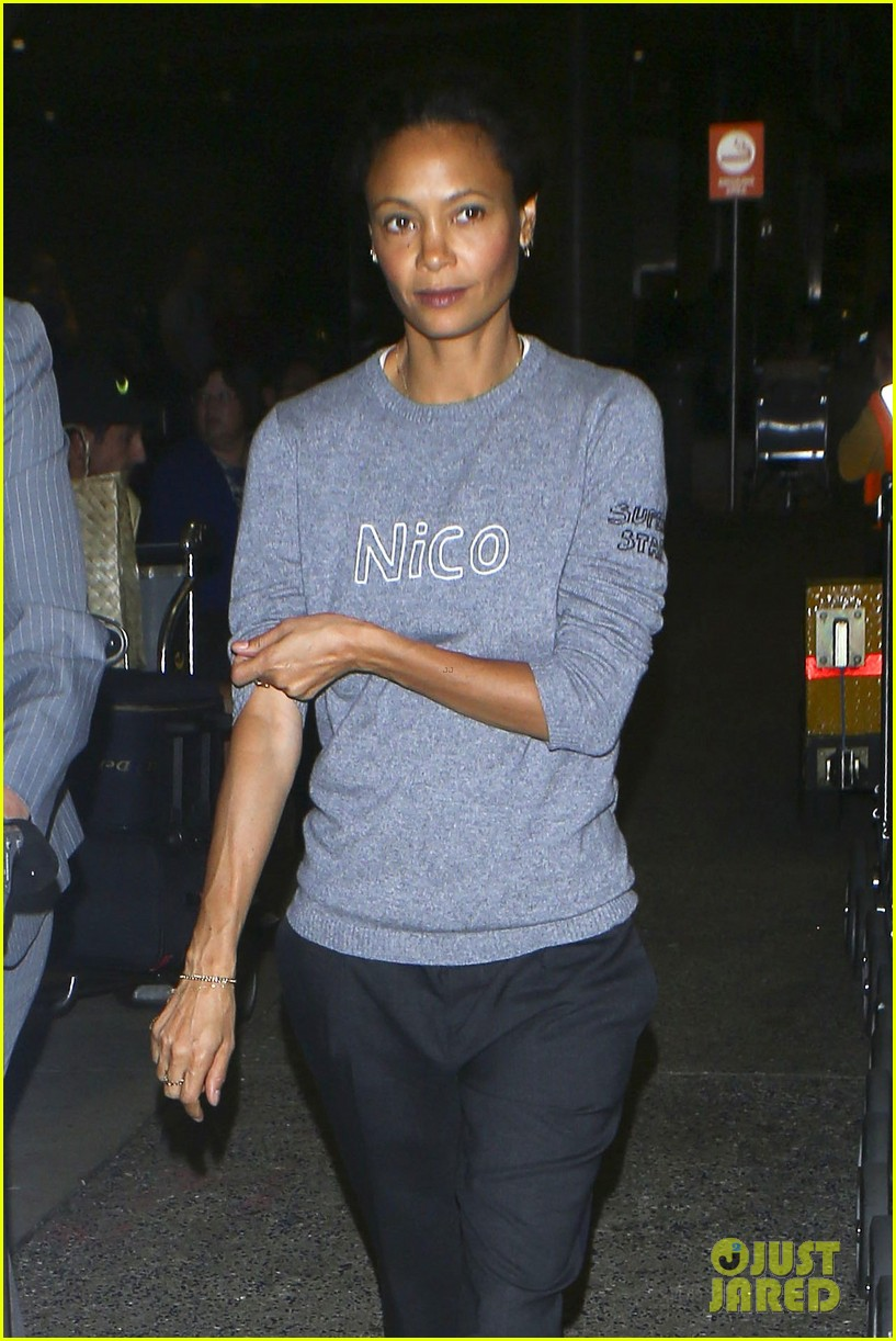 Full Sized Photo of thandie newton had some trouble ...
