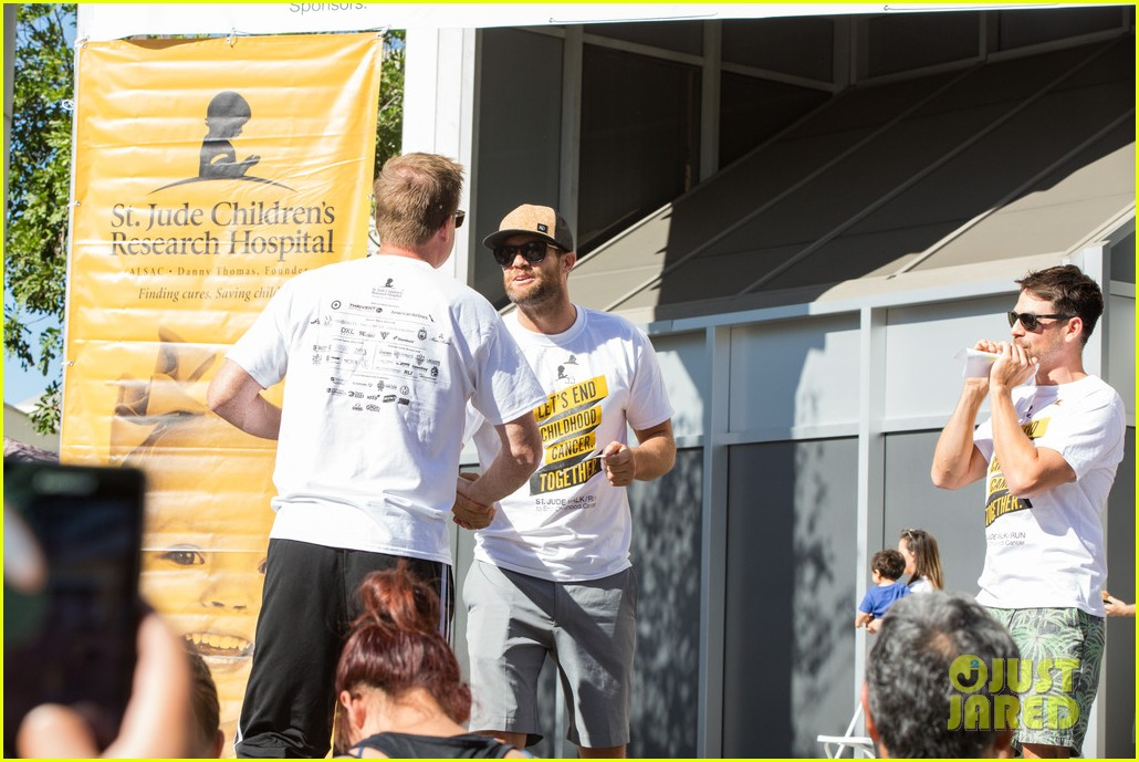 ashley tisdale lucy hale more st jude cancer walk 063769575