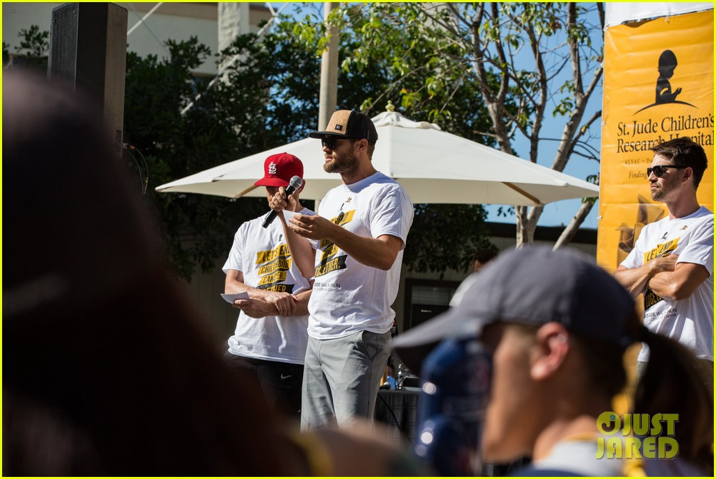 ashley tisdale lucy hale more st jude cancer walk 083769577