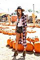alessandra ambrosio visits a pumpkin patch with her kids 10