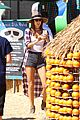 alessandra ambrosio visits a pumpkin patch with her kids 15