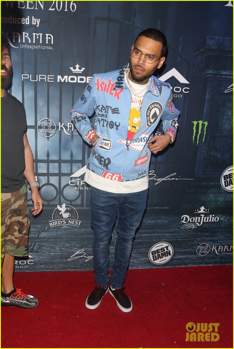 chris brown maxim 2016 halloween party 183791747