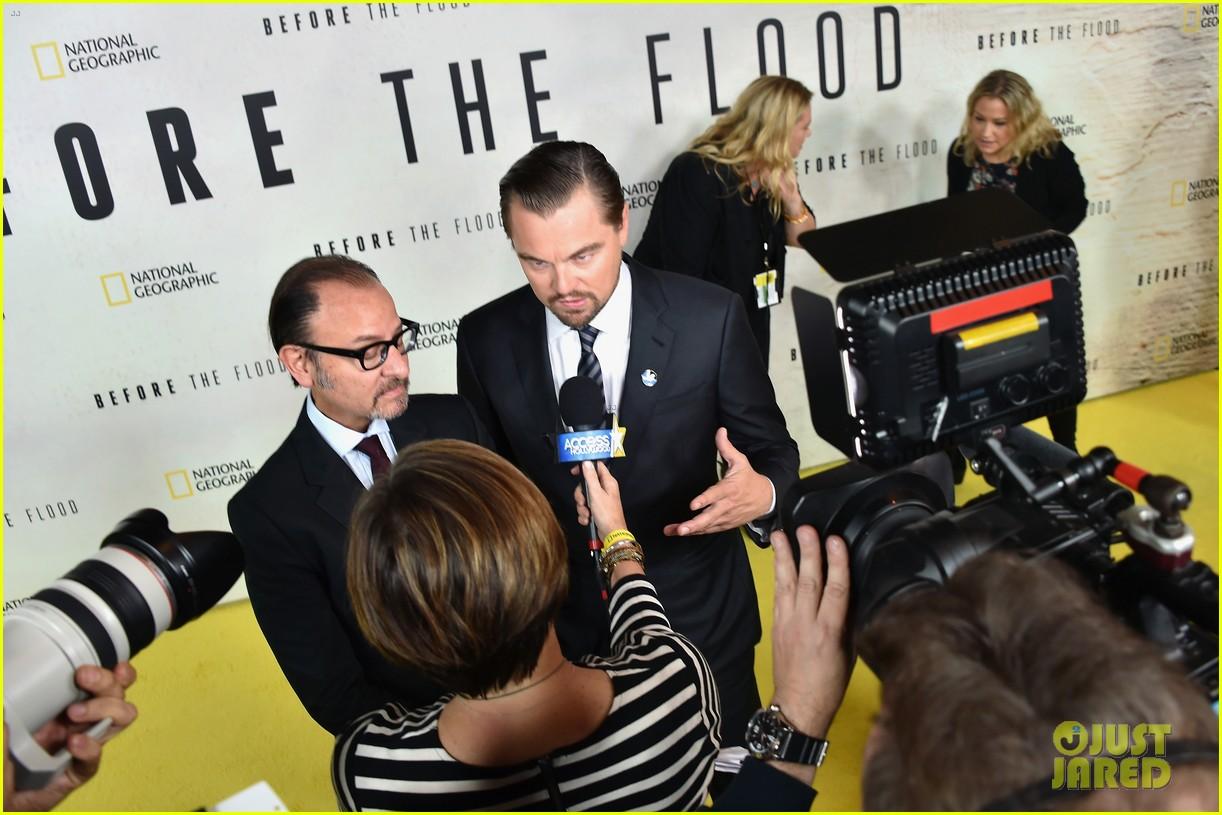 Leonardo DiCaprio Almost Drowned Filming 'Before The Flood'!: Photo 3790300 | Bridget Moynahan, Edward Norton, Fisher Stevens, John Kerry, John Leguizamo, ...