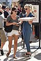 julianne hough picks up pizza at the grove 12
