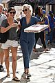 julianne hough picks up pizza at the grove 19