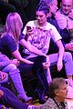 kendall jenner and karlie kloss sit courtside while cheering on lakers jordan clarkson 19