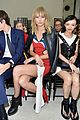 miranda kerr karlie kloss buddy up at louis vuitton paris fashion show 04