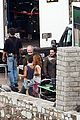 kit harington alfie allen game of thrones set photos 20