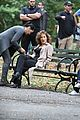 jennifer lopez shades of blue on set gunfire 24