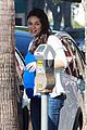 mila kunis baby bump studio city 15