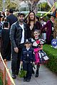 alessandra ambrosio wears bunny ears while trick or treating 01