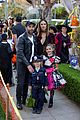 alessandra ambrosio wears bunny ears while trick or treating 06