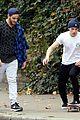 brooklyn beckham shares one legged squat workout video 11
