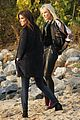 cate blanchett rocks leather pants while filming oceans eight with sandra bullock 03
