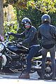 bradley cooper goes for a motorcycle ride with irina shayk 01