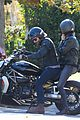 bradley cooper goes for a motorcycle ride with irina shayk 17