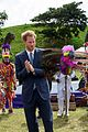 prince harry continues his trip to the caribbean 08