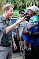 prince harry plays kids st vincent caribbean 04