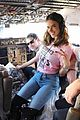 kendall jenner bella hadid more victorias secret models jet off to paris2 19