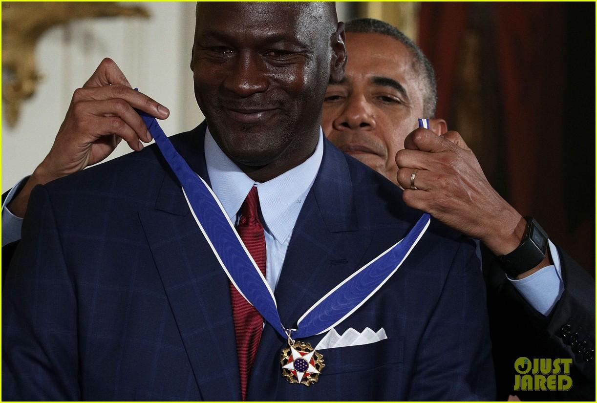 michael jordan cries as obama calls him more than a meme 03 video michael jordan cries as obama calls him 'more than a meme,More Than That Meme