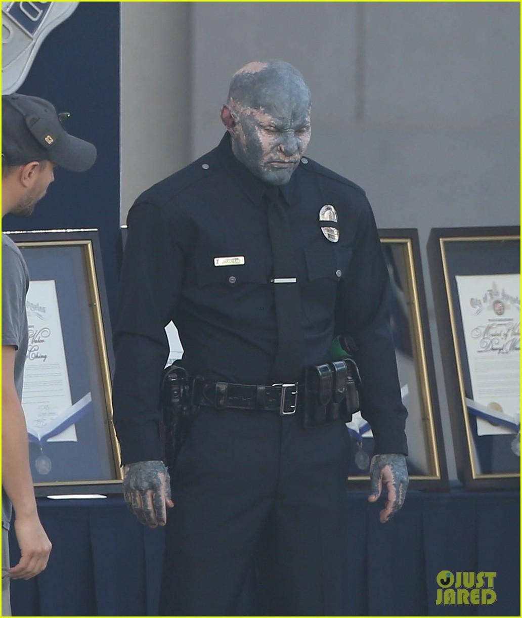 Will Smith & Joel Edgerton Start Work on Cop Movie 'Bright': Photo ...
