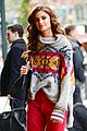 taylor hill heads to a victorias secret fashion show fitting 02