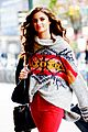 taylor hill heads to a victorias secret fashion show fitting 16