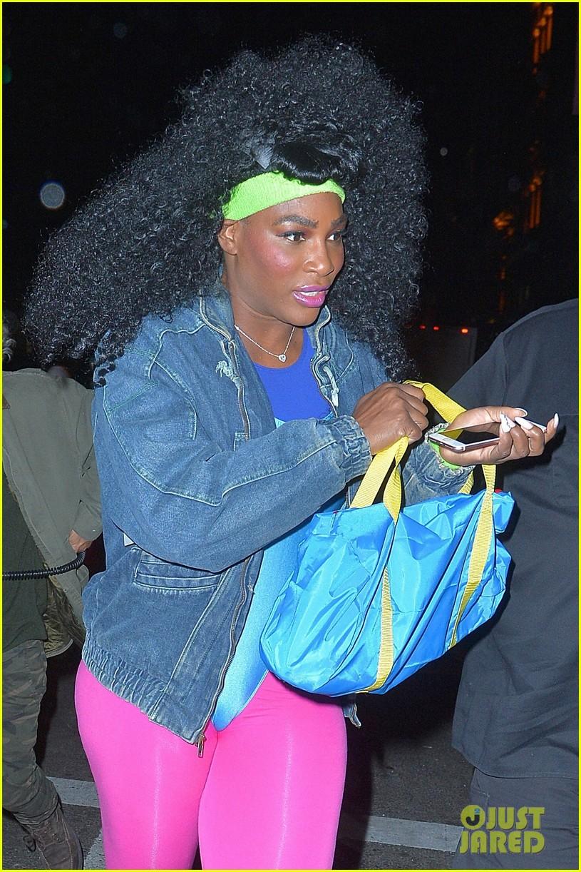 Serena Williams & Lewis Hamilton Got 'Flirty' on Halloween Night ...