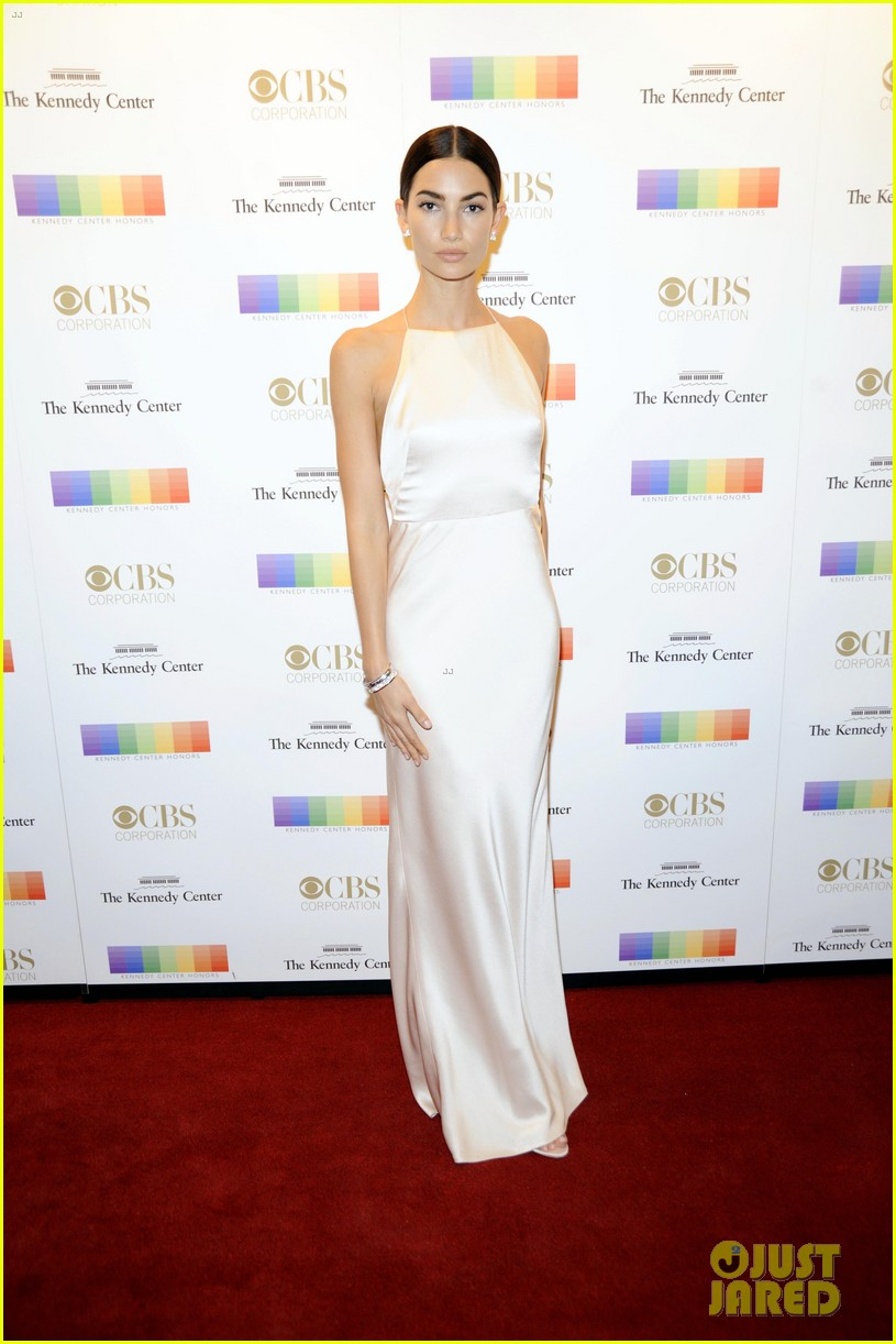 lily aldridge kings of leon rock red carpet at 2016 kennedy center honors 013821254
