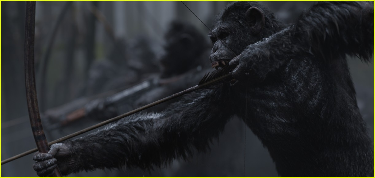 ... of the Apes' - Watch the First Official Trailer: Photo 3824505 | Amiah Miller, Andy Serkis, Karin Konoval, Movies, Steve Zahn, Terry Notary, Trailer, ...