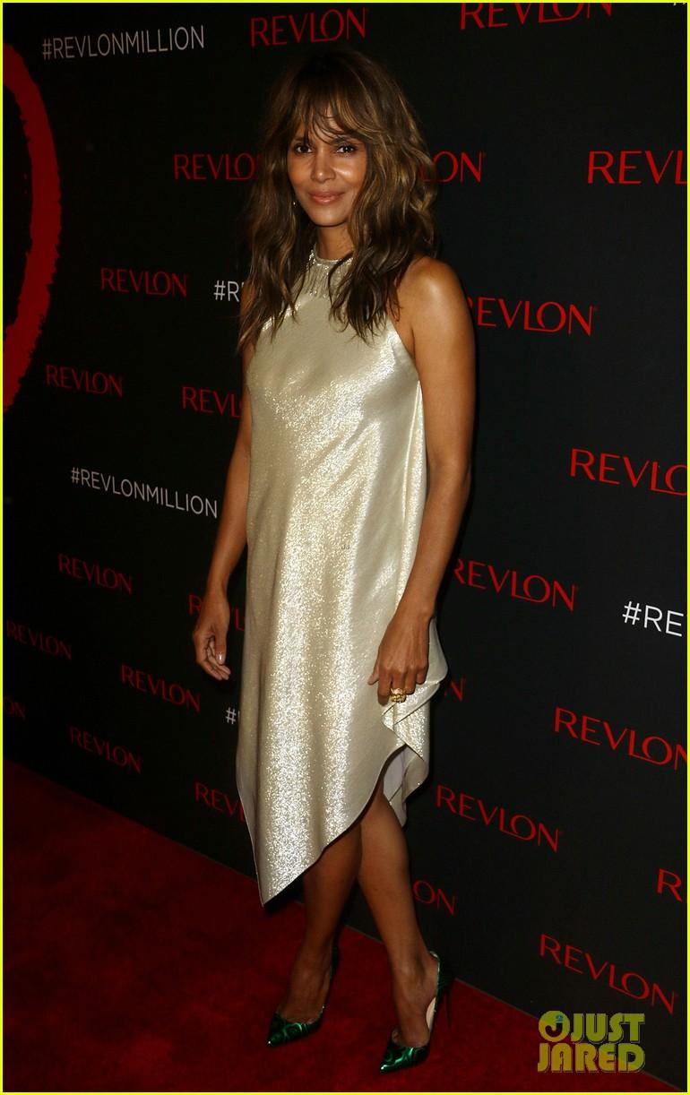 Halle Berry Shines at Revlon's 'Love is On Million Dollar ...