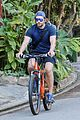 bradley cooper goes on bike ride for his daily workout 14