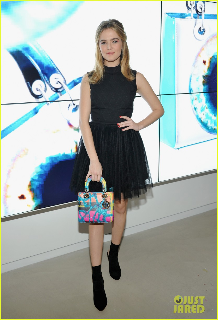 About Photo #3823173: Britt Robertson, Zoey Deutch and Halston Sage are such a fashionable trio! The ladies stepped out in some chic looks at the Dior Lady Art Pop-Up Boutique opening… Read More Here
