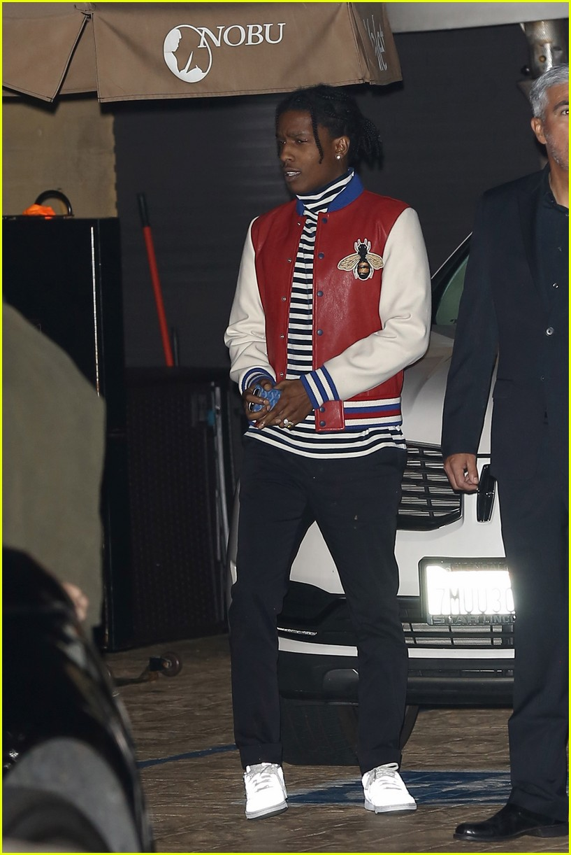 9ac35c43da2c Kendall Jenner & A$AP Rocky Grab Dinner on During Night Out Together: Photo  3826536 | ASAP Rocky, Kendall Jenner Pictures | Just Jared