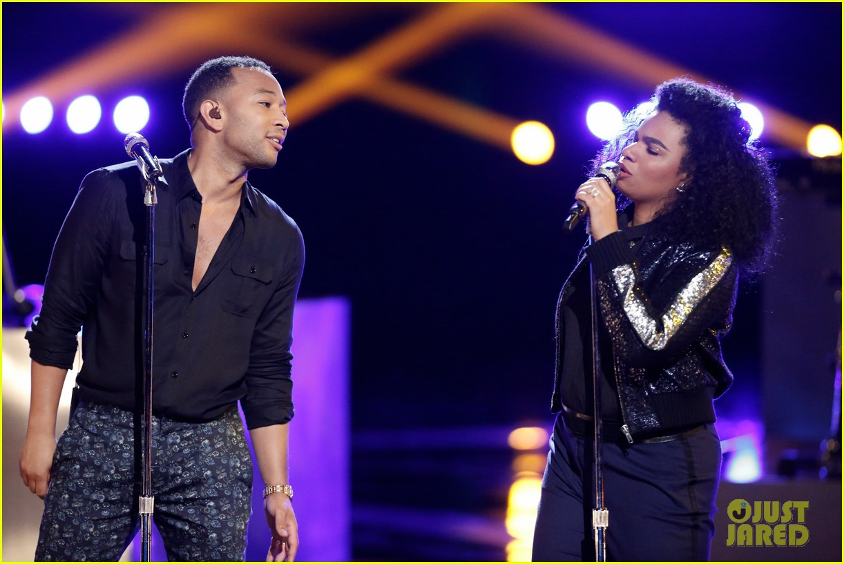 Video John Legend Performs With We Mcdonald On The Voice Finale Photo 3827905 John Legend