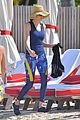 paul mccartney hits beach with daughter stella st barts 04