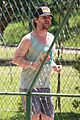 matthew mcconaughey gets in a workout in brazil 15