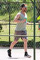matthew mcconaughey gets in a workout in brazil 19