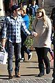 meghan trainor daryl sabara hold hands shopping 12