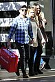 meghan trainor daryl sabara hold hands shopping 16