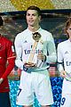 cristiano ronlado celebrates real madrid fifa win 08